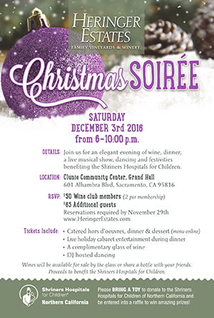 Sacramento Christmas Holiday Catering Party